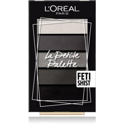 L'Oréal Paris La Petite Palette палетка тіней відтінок Fetish 5 x 0,8 гр