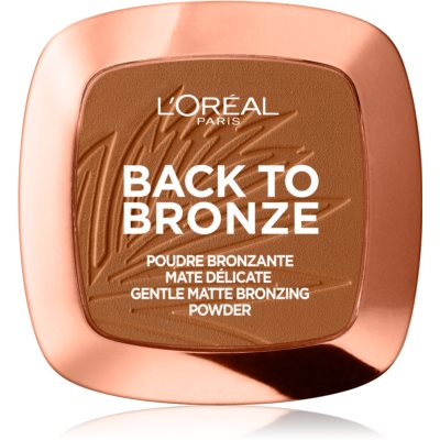 L'Oréal Paris Wake Up & Glow Back to Bronze bronzeador tom 02 Sunkiss 9 g