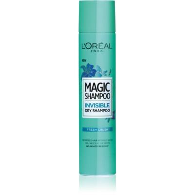 suchý šampón pre objem vlasov, ktorý nezanecháva biele stopy