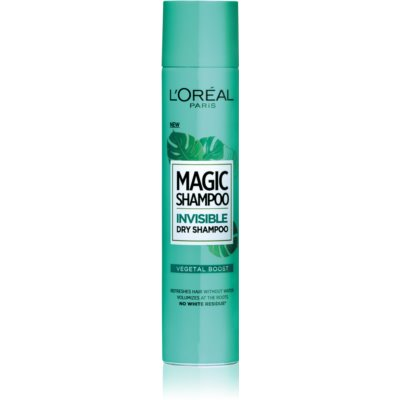 L'Oréal Paris Magic Shampoo Vegetal Boost shampoo secco volumizzante senza residui bianchi