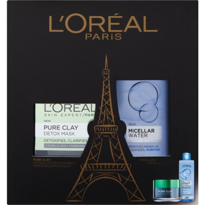 L'Oréal Paris Pure Clay coffret I.