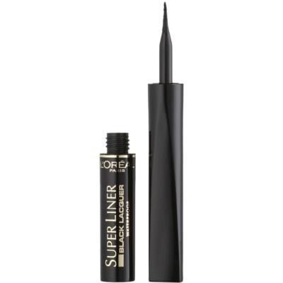 L'Oréal Paris Super Liner Black Lacquer delineador de ojos resistente al agua