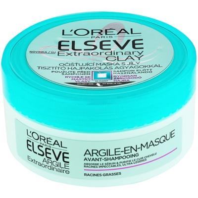 máscara de limpeza para cabelo rapidamente oleoso