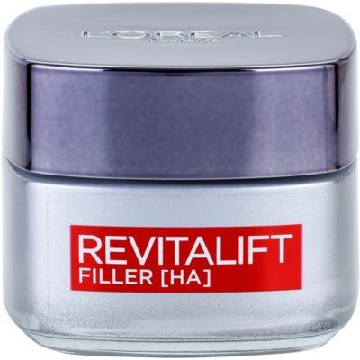 L'Oréal Paris Revitalift Filler crema de día antiarrugas con efecto relleno   antienvejecimiento