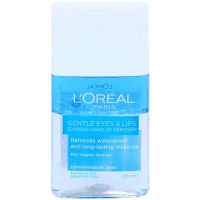 Eye And Lip Make - Up Remover For Sensitive Skin