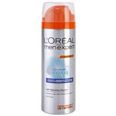 L'Oréal Paris Men Expert Anti-Irritation espuma de barbear para pele sensível
