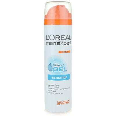 L'Oréal Paris Men Expert Hydra Sensitive гель для гоління для чутливої шкіри