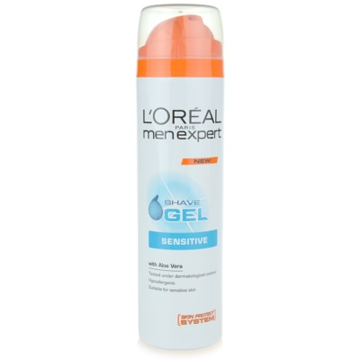 L'Oréal Paris Men Expert Hydra Sensitive gel de rasage pour peaux sensibles