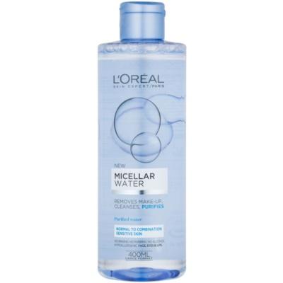 agua micelar para pieles sensible (normales y mixtas)