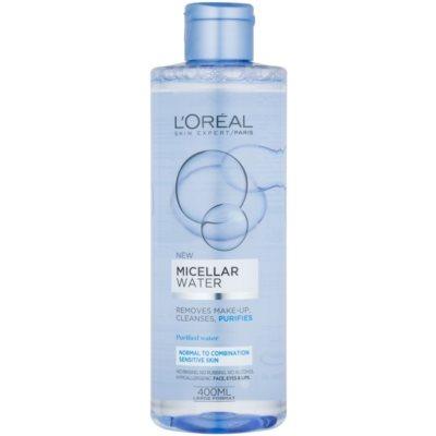 woda micelarna do skóry wrażliwej, normalnej i mieszanej