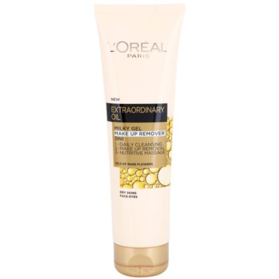 Gel Cream Makeup Remover 3 In 1