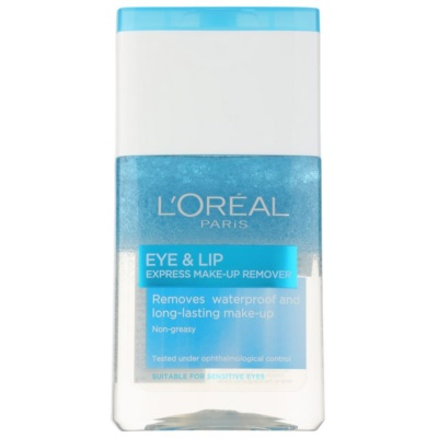 Two - Phase Make-Up Remover For Eye Area And Lips