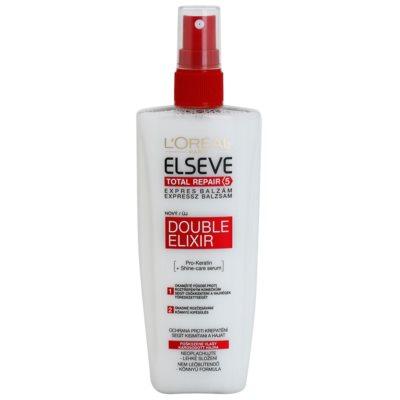 regenerierender Balsam für fusselige Haarspitzen