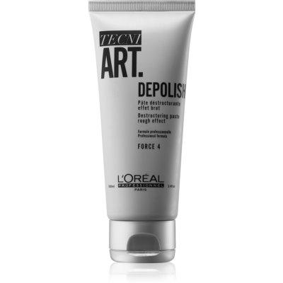 L'Oréal Professionnel Tecni.Art Depolish destrukturizační krémová modelovací pasta s matným efektem