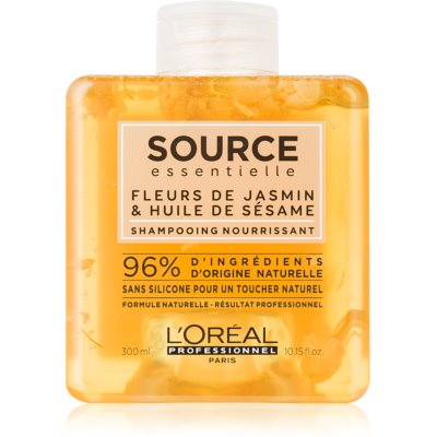 L'Oréal Professionnel Source Essentielle Jasmine Flowers & Sesame Oil sampon hranitor pentru par uscat si sensibil