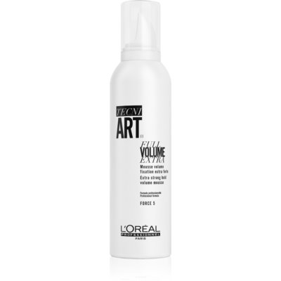 L'Oréal Professionnel Tecni.Art Full Volume Extra Strong Hold Fixation Mousse with Volume Effect