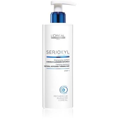 shampoo detergente per capelli diradati naturali