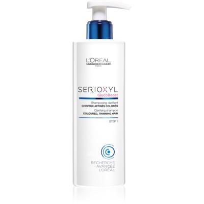 shampoo detergente per capelli tinti e diradati