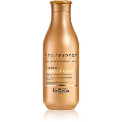 L'Oréal Professionnel Serie Expert Absolut Repair Lipidium après-shampoing régénérant pour cheveux très abîmés