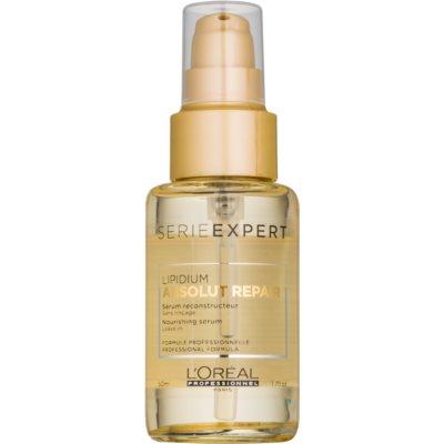 L'Oréal Professionnel Série Expert Absolut Repair Lipidium регенериращ серум за силно увредена коса