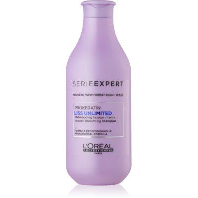 vyhlazující šampon pro nepoddajné a krepatějící se vlasy
