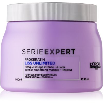 L'Oréal Professionnel Série Expert Liss Unlimited intenzív maszk hajegyenesítésre