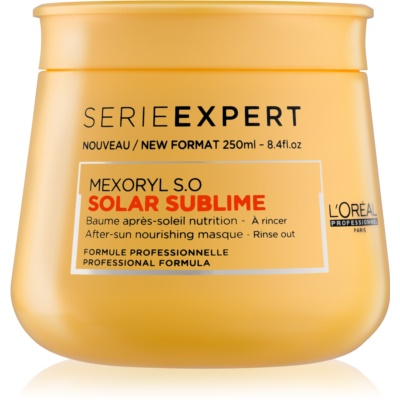 L'Oréal Professionnel Série Expert Solar Sublime masque nourrissant pour cheveux exposés au soleil