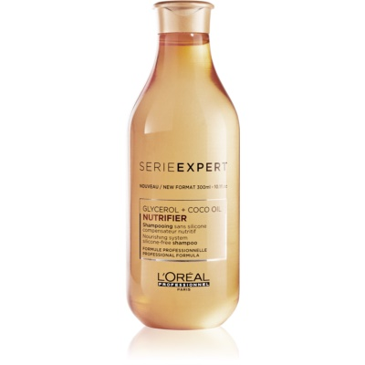 L'Oréal Professionnel Serie Expert Nutrifier szampon odżywczy Z olejkiem kokosowym.