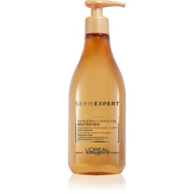 L'Oréal Professionnel Série Expert Nutrifier szampon odżywczy Z olejkiem kokosowym.
