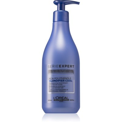 L'Oréal Professionnel Serie Expert Blondifier neutralising shampoo for cool blonde hair