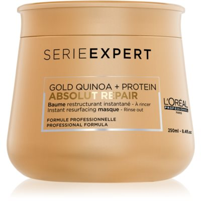 L'Oréal Professionnel Serie Expert Absolut Repair Gold Quinoa + Protein intenzívna regeneračná maska pre veľmi poškodené vlasy
