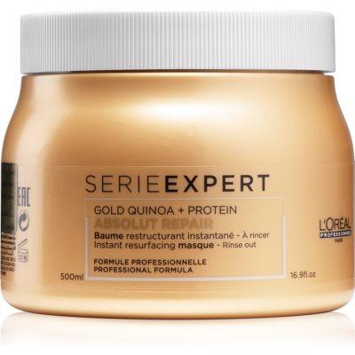 L'Oréal Professionnel Serie Expert Absolut Repair Gold Quinoa + Protein maseczka regenerująca do włosów zniszczonych