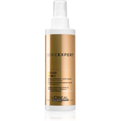 L'Oréal Professionnel Serie Expert Absolut Repair Gold Quinoa + Protein konnyű multifunkciós spray a károsult hajra