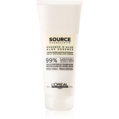 L'Oréal Professionnel Source Essentielle Aloe Essence acondicionador capilar en crema antiencrespamiento