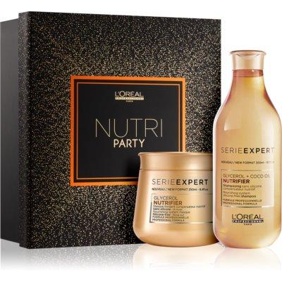 L'Oréal Professionnel Série Expert Nutrifier Kosmetik-Set  I.