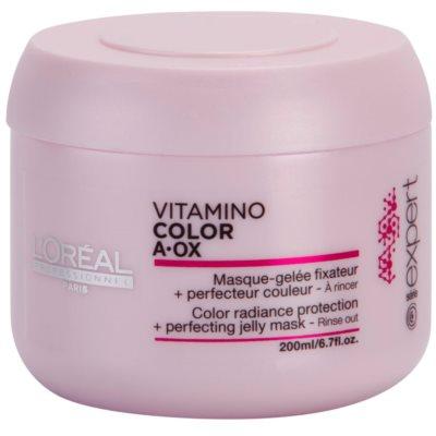 відновлююча маска для фарбованого волосся