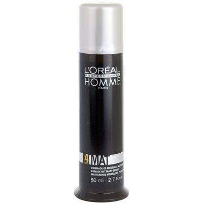 L'Oréal Professionnel Homme Styling pasta moldeadora de acabado mate