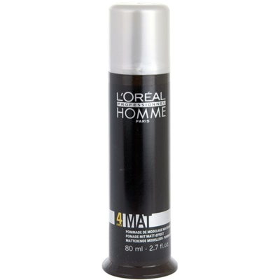 L'Oréal Professionnel Homme 4 Force Mat Modeling Paste for a Matte Look