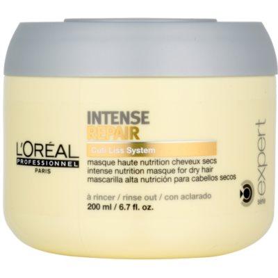 maseczka regenerująca do włosy suchych, zniszczonych