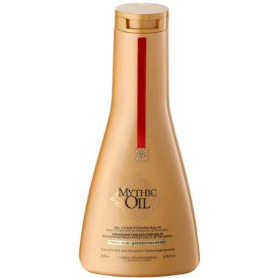 olejový kondicionér pre husté a nepoddajné vlasy