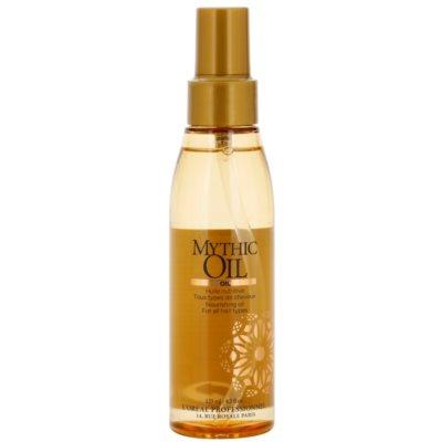 olej v spreji s rastlinnými extraktmi
