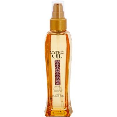 olej pre nepoddajné vlasy