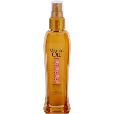 Shimmering Oil For Body And Hair