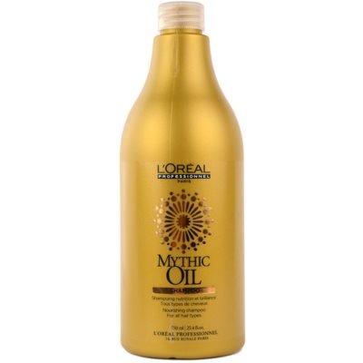 vyživujúci šampón pre všetky typy vlasov