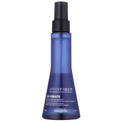 sérum em spray sem enxaguar para cabelo fino e danificado