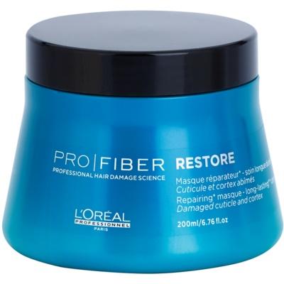 възстановяваща маска за увредена и химически третирана коса
