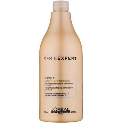 L'Oréal Professionnel Série Expert Absolut Repair Lipidium Herstellende Conditioner  voor Sterk Beschadigd Haar   750 ml