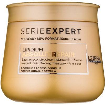 L'Oréal Professionnel Série Expert Absolut Repair Lipidium regeneráló maszk nagyon sérült hajra
