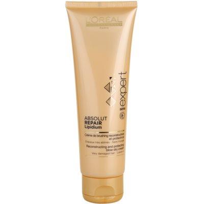 schützende regenerierende Creme für thermische Umformung von Haaren