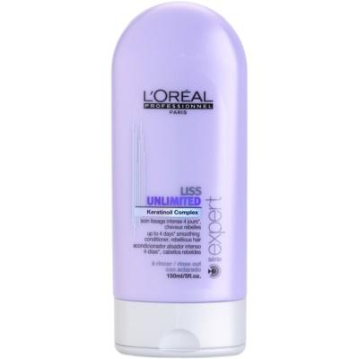 condicionador alisante para cabelos crespos e inflexíveis